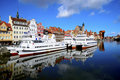 Gdansk Harbor, Poland Stock Photography - 19018442