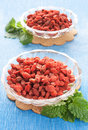 Red Dried Goji Berries Royalty Free Stock Photography - 19019977