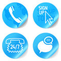 Support Icons Royalty Free Stock Photography - 19028677