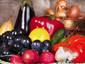 Still Life With Some Fruits And Vegetables. Royalty Free Stock Photos - 19044558