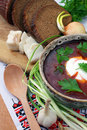 Ukrainian Borsch Stock Photography - 19047362