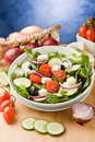 Greek Salad Stock Photography - 19051462