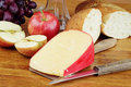 Cheese And Fruit Royalty Free Stock Image - 19073056