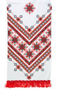 Traditional Ukrainian Embroidered Towel Stock Images - 19078844