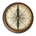 Antique Compass Royalty Free Stock Photos - 19084258
