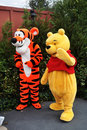 Winnie-the-Pooh And Tigger In Disney World Stock Image - 19097091
