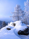 Winter Landscape In Russia. Stock Images - 19098244