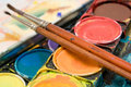 Watercolors (Close View) Royalty Free Stock Image - 1918086