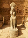 Goddess Sekhmet At The Temple Of Ramesses III Royalty Free Stock Image - 19110626