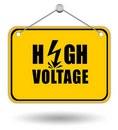 High Voltage Sign Stock Images - 19120294