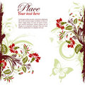 Floral Frame Stock Photography - 19130662