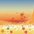 Tropical Paradise Royalty Free Stock Images - 19138189
