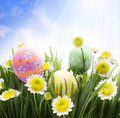 Beautiful Easter Greetings Royalty Free Stock Photo - 19166485