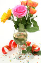 Wine And Roses Stock Image - 19182901