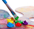 Paint Brush Royalty Free Stock Photography - 19186657