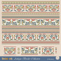 Vector Seamless Pattern In Antique Style Stock Photography - 19195392