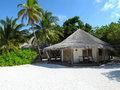 Maldivian Beach Bungalow Royalty Free Stock Photography - 19206627