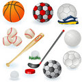 Sport Equipment Icons 1 Royalty Free Stock Photos - 19217758