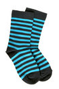 Pair Of Child S Striped Socks Royalty Free Stock Photo - 19218015