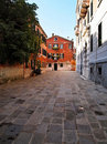 One Of Street In Venice , Italy Stock Photography - 19228262