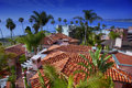 Spanish Tile Roofs Royalty Free Stock Image - 19232056