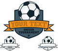 Soccer Crest Royalty Free Stock Photo - 19233285