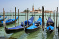 Gondolas On Grand Canal. Royalty Free Stock Photography - 19236357