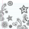 Hand-Drawn Sketchy Back To School Doodles Royalty Free Stock Images - 19249839