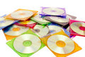 Colorful CDs In Boxes Royalty Free Stock Photo - 19251465