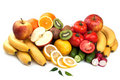 Fresh Fruits And Vegetables Royalty Free Stock Photos - 19257068