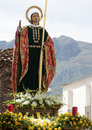 Jesus Christ Statue On A Float Stock Images - 19273334