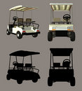 Golf Cart Royalty Free Stock Photo - 1937655