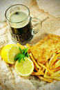 Fish And Chips Royalty Free Stock Photos - 19304568