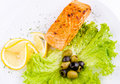 Grilled Salmon Stock Images - 19315184