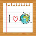I Love Earth Stock Images - 19348234