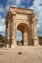 Arch Of Septimius Severus At Leptis Magna Libya Royalty Free Stock Image - 19362546