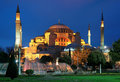 Evening View Of The Hagia Sophia In Istanbul Stock Photos - 19371113