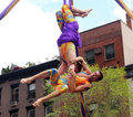 Aerial Acrobats. Stock Image - 19371321