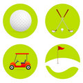 Golf Icons Stock Images - 19395914