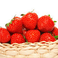 Strawberries In A Basket Royalty Free Stock Photo - 19409985