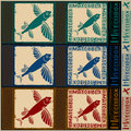 Flying Fish Matchbox Royalty Free Stock Images - 19433849
