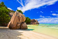 Beach Source D Argent At Seychelles Royalty Free Stock Photo - 19462295