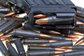 AK 47 Ammo With Mag Stock Photos - 19464443