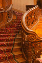 Wood Stair In Rich Palace Stock Photo - 19466240