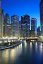 Chicago Financial District Royalty Free Stock Photos - 19471938