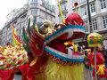 Head Of Chinese Dragon Dancing Stock Photography - 1955652