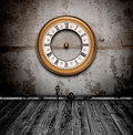Vintage Watch In Old Grunge Room Royalty Free Stock Image - 19522416