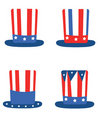 Independence Day,set Hats Royalty Free Stock Images - 19528659