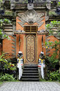 Temple Door In Bali Indonesia Stock Images - 19538134