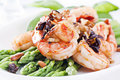 ASparagus With Prawns Royalty Free Stock Images - 19538369